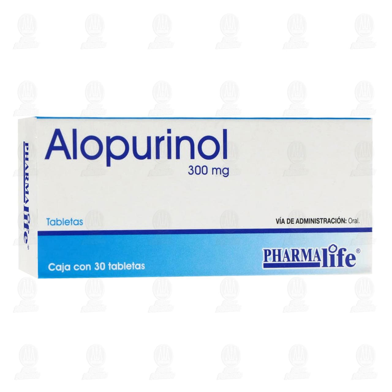 Alopurinol 300mg 30 Tabletas Pharmalife