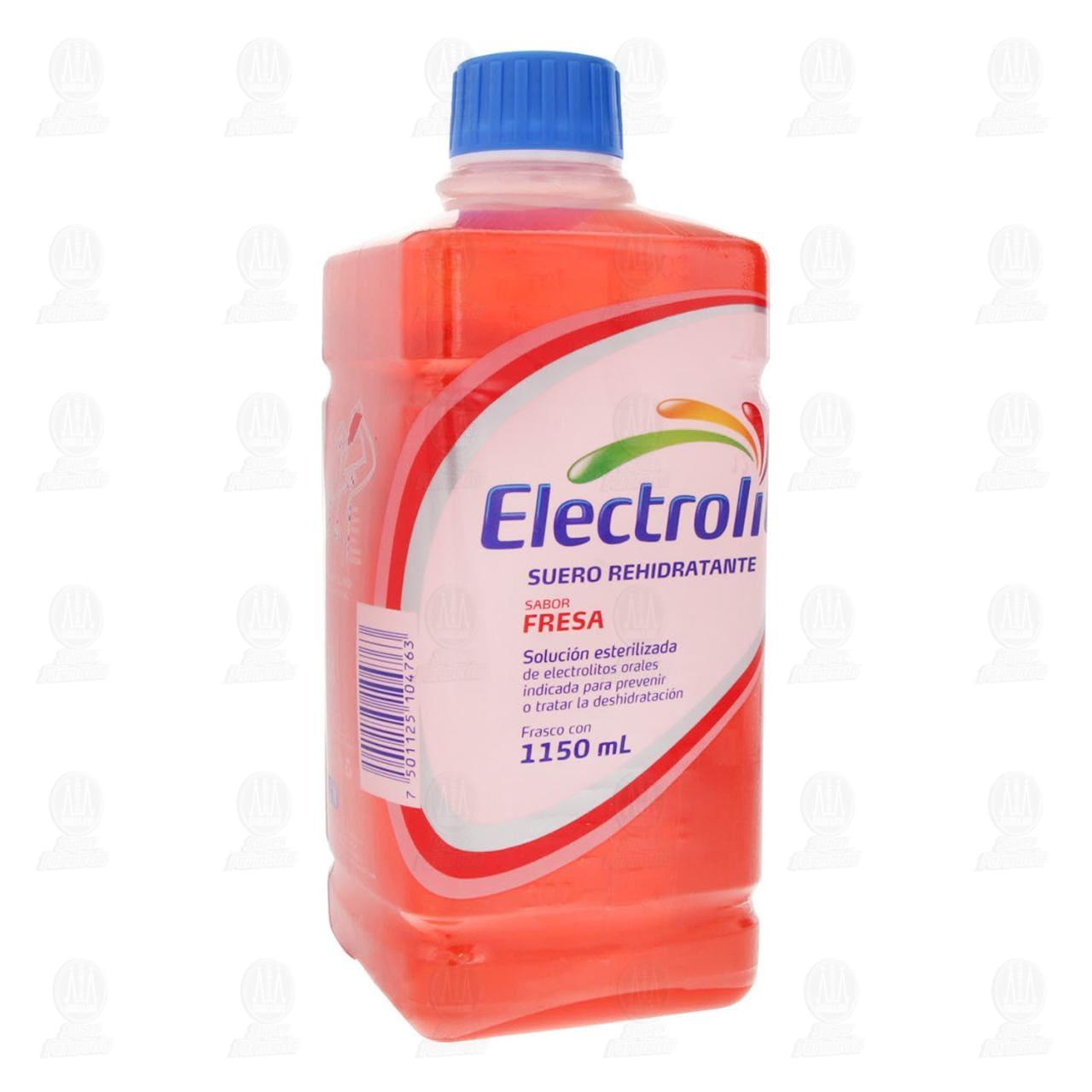 Electrolit 1150 ml. Fresa Plástico