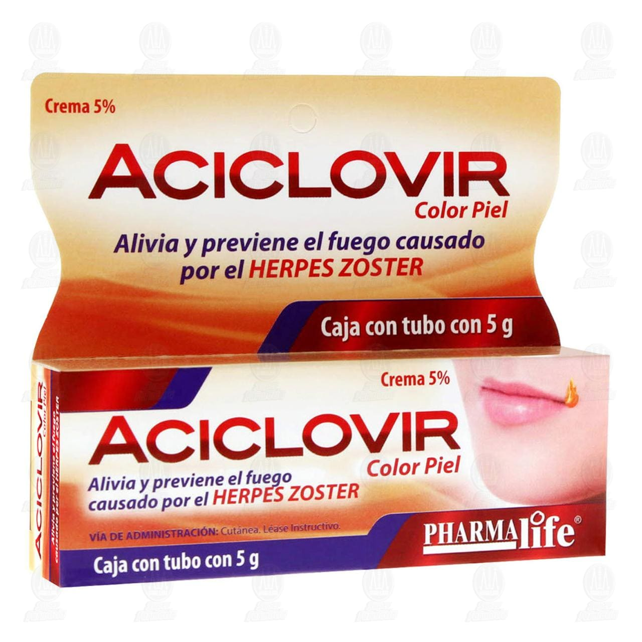 Aciclovir 5% Crema 5gr Color Piel Pharmalife