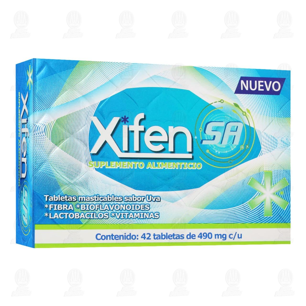 Xifer SA 490mg UVA 42 Tabletas Masticables