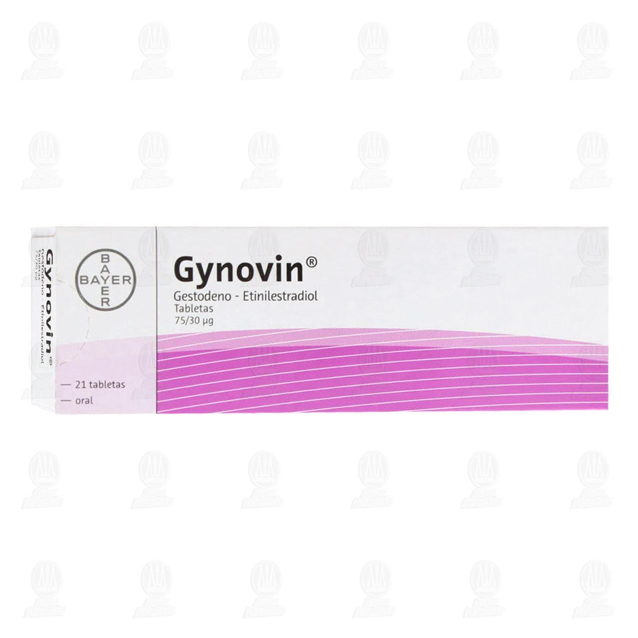 Gynovin 75/30 Mcg 21 Grageas