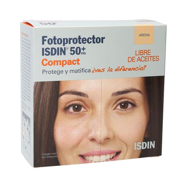 ISDIN FOTOPROTECTOR ARENA COMPACT 50+FPS