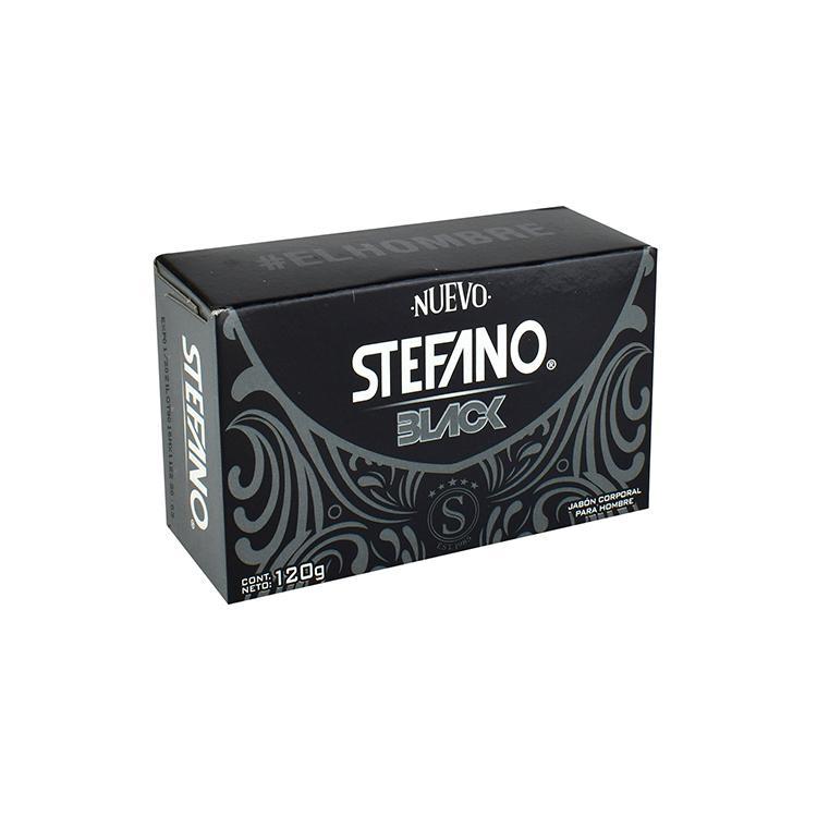 STEFANO JABÓN BLACK 120G