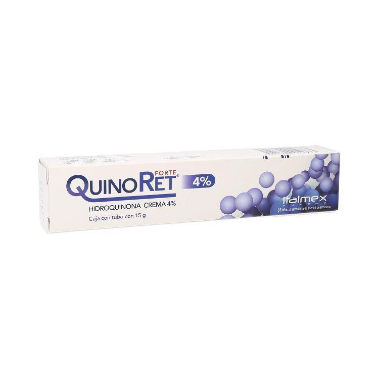 QUINORET FORTE CREMA 4% TUBO 15G