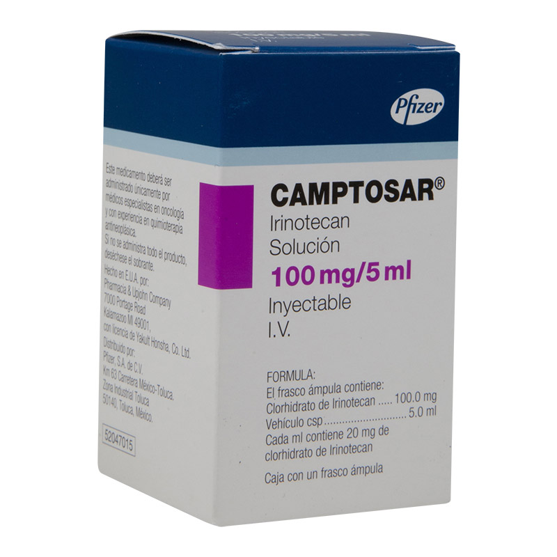 CAMPTOSAR SOL INY 20MG/ML C1