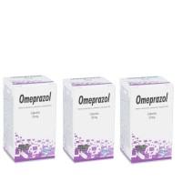Comprar Pack Omeprazol 3 frascos de 90 cápsulas 20mg cada uno