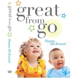 Shapes All Around DVD by Great from Go! prize large, primary, image