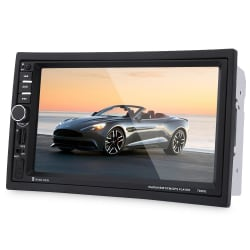 7020G 7 inch Car Audio Stereo MP5 Player Remote Control Rearview Camera GPS Navigation Function large, primary, image