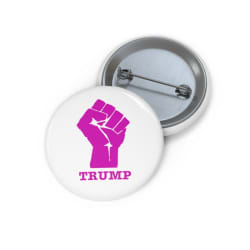 "Fist TRUMP Pin Buttons (1"") large, primary, image"