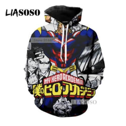 My Hero Academia All Might Hoodie. large, primary, image