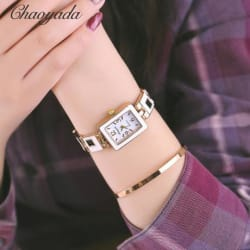 Chaoyada women wrist watch (20.0 cm * 16.0 cm * 3.0 cm / Red) large, primary, image
