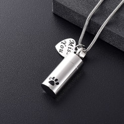 Pet Memorial Urn - Necklace large, primary, image