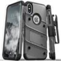 ZIZO BOLT SERIES CASE W/ KICKSTAND, HOLSTER, TEMPERED GLASS SCREEN PROTECTOR, large, primary, image