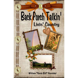 "Personally Autographed ""Back Porch Talkin' Livin' Country"" Book large, primary, image"
