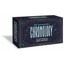 Buffalo Games Chronology - The Game Where You Make History - 20th Anniversary Edition large, primary, image