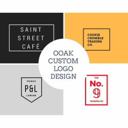 Custom OOAK Logo Design - Includes 5 Free Revisions large, primary, image