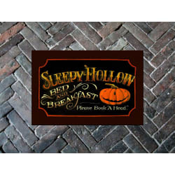 """Sleepy Hollow Door Mat 18"""" x 24"""" - Halloween large, primary, image"""