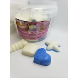 MELTED BOX CANDLES (25 pieces) fruit slices scent and citron and mandarin large, primary, image