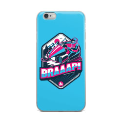 Blue Snowmobile BRAAAP! iPhone Case (iPhone 6 Plus/6s Plus) large, primary, image