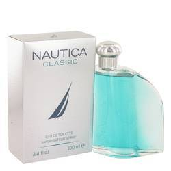 Nautica Classic Eau De Toilette Spray By Nautica (3.4 oz Eau De Toilette Spray) large, primary, image
