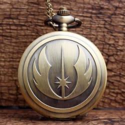 New Fashion Bronze STAR WARS Jedi Knight Pocket Watch large, primary, image