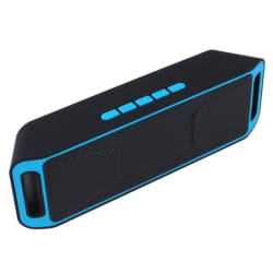 Portable Wireless Bluetooth Speaker Hand-free Heavy Bass FM Radio For Smart Phone Tablets Built in large, primary, image