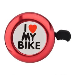 I Love My Bike Bell (Red) large, primary, image