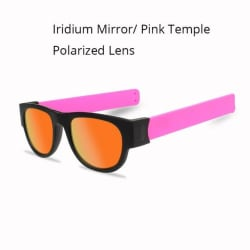 Slap on Sunglasses with Polarized Mirror (Red Mirrored) large, primary, image