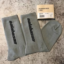 men women socks Calabasas season 5 socks (Gray / One Size) large, primary, image