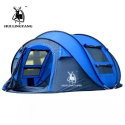 4 Person / Family Tent (blue / Russian Federation) large, primary, image