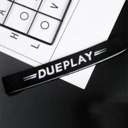 Alphabet Letter Elastic Sports Hair Band Unisex (Black) large, primary, image