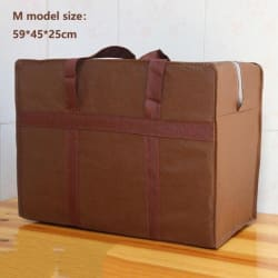Extra large Oxford cloth luggage packing Travel bag waterproof - 30L 100L 130L thick non-woven bag large, primary, image