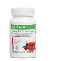 Herbalife Raspberry Green Tea - 1.8oz large, primary, image