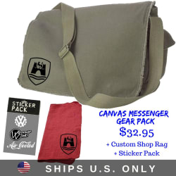 Canvas Messenger Gear Pack large, primary, image