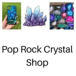 Pop Rock Crystal Shop: Large size image