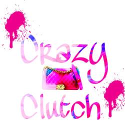Shop Crazy Clutch: Large size image