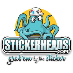 Stickerheads Stickers: Large size image