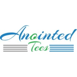 Our Anointed Tees.: Large size image