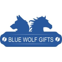 Blue Wolf Gifts: Large size image