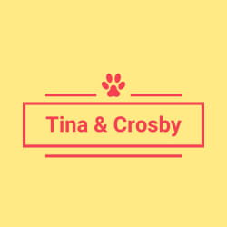 Tina & Crosby: Large size image