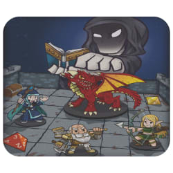 TableTop RPG Mouse Pad (TableTop) large, primary, image