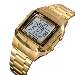 Dual time digital men's watch large, primary, image