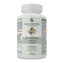 Pure & Natural whole food vitamins large, primary, image