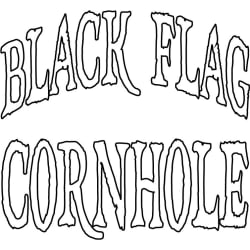 Black Flag Cornhole: Large size image
