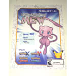 Pokemon 20th Anniversary Mew Card
