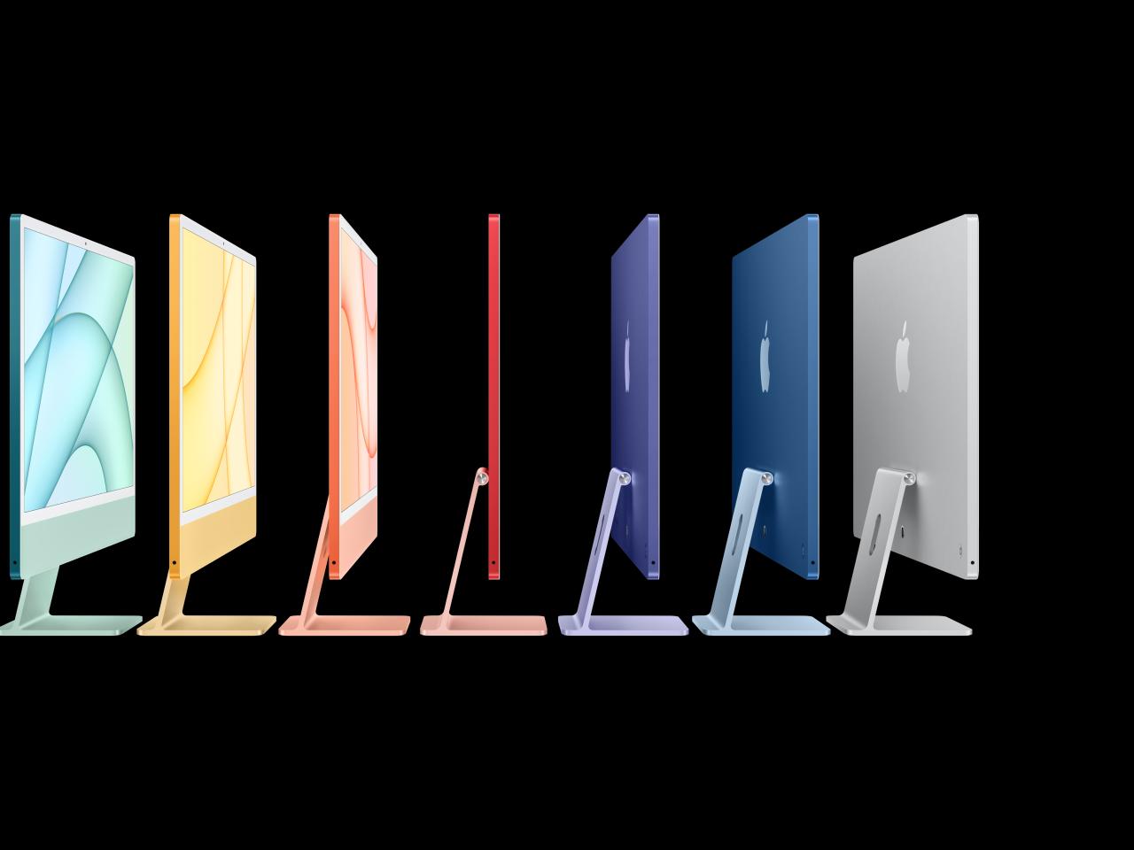 iMac. Een kleurrijk vooruitzicht.