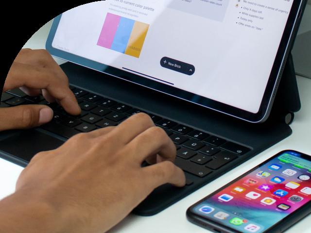 Flexibel werken met de iPad Pro
