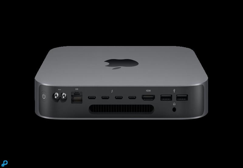 Mac mini: 3,0-GHz 6-core Intel Core i5-processor van de 8e generatie, Turbo Boost tot 4,1 GHz, 512 GB