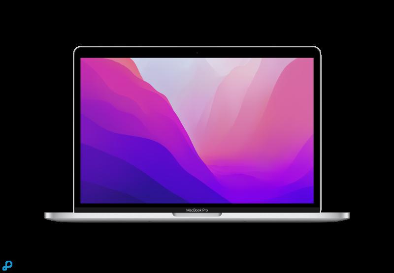 13-inch MacBook Pro: Apple M1-chip met 8-core CPU en 8-core GPU, 256 GB SSD - zilver