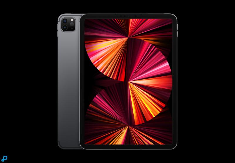 11-inch iPad Pro, Wi-Fi + Cellular, 128 GB, spacegrijs